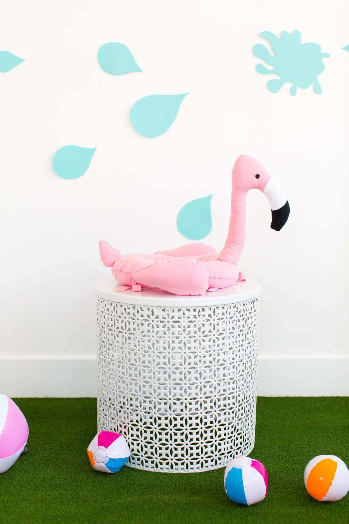 DIY Pool Float Costume For The Pups by Ashley Rose of Sugar & Cloth, a lifestyle blog in Houston
