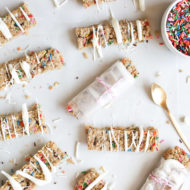 Funfetti Granola Bars - Sugar & Cloth - Recipe - Houston Blogger