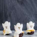 DIY Melting Ghost Halloween Macarons