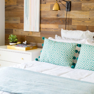 A Before and After Simple Bedroom Makeover for Zach & Caitlin!