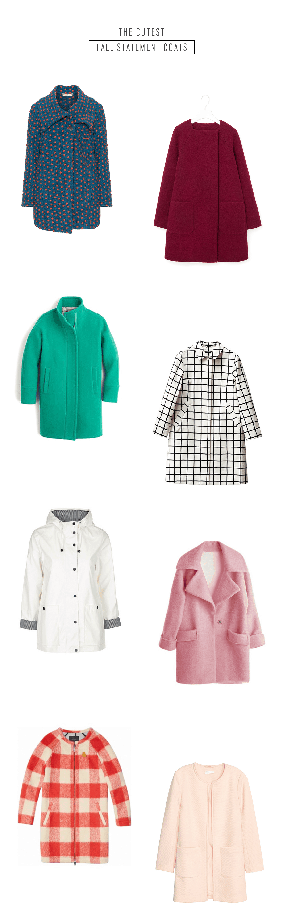 The Cutest Fall Statement Coats - Sugar & Cloth - Houston Blogger - Style - Winter