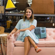Watch my video interview feature on Huffington Post rise! - sugar and cloth - best DIY blog - blogger - ashley rose