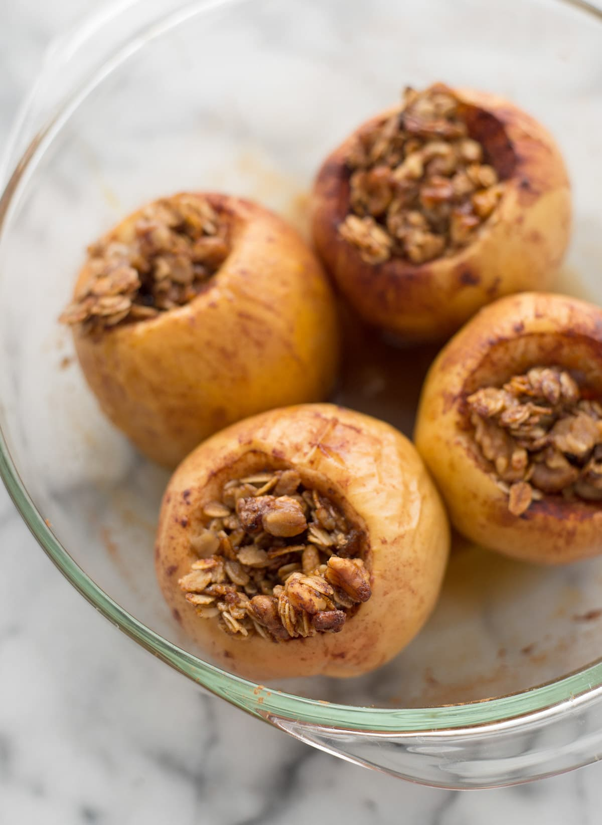 Baked Apples with Spiced Granola and Yogurt - Sugar & Cloth - Houston Blogger - Fall - Recipe