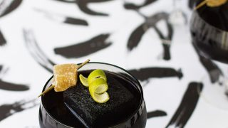 Detoxing Activated Charcoal Cocktail Recipe