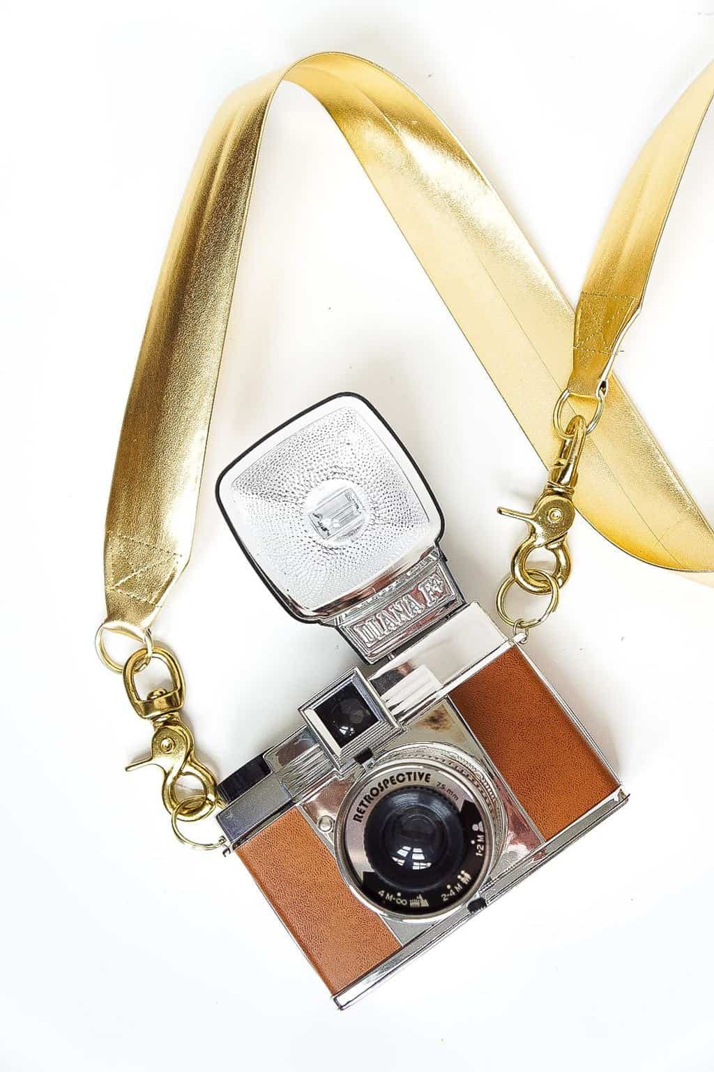 DIY Glam Camera Strap - Sugar & Cloth - DIY - Houston Blogger