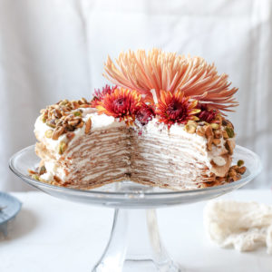Chai Crepe Cake - Sugar & Cloth - Houston Blogger - Recipe - Fall