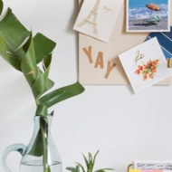DIY Pin Up Clip Board - Sugar & Cloth - Houston Blogger - DIY - Home Decor