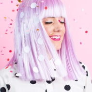 Winks & Wigs: DIY Wig and Lash Combinations for Halloween by Sugar & Cloth - ideas - ashley rose - best DIY blog - houston blogger