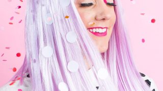 Winks & Wigs: DIY Wig and Lash Combinations for Halloween