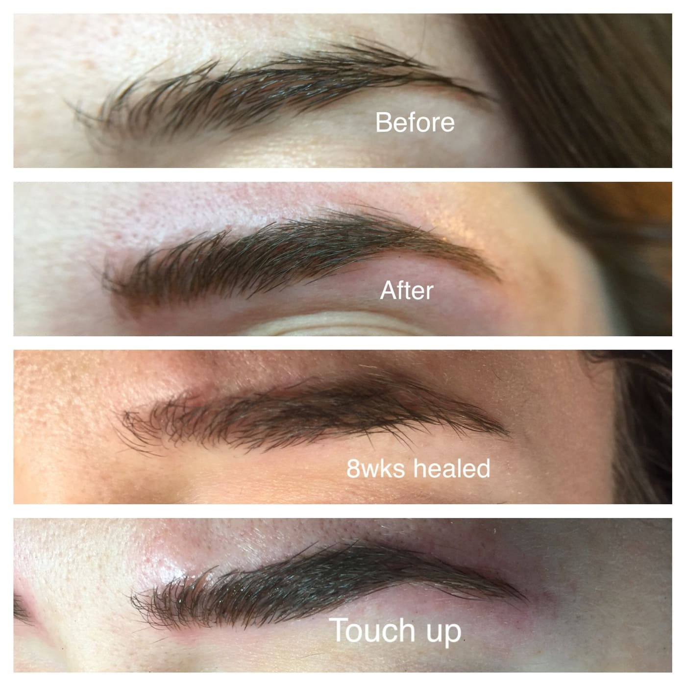 Yes, I got my eyebrows microbladed! by top houston lifestyle blogger Ashley Rose of Sugar & Cloth