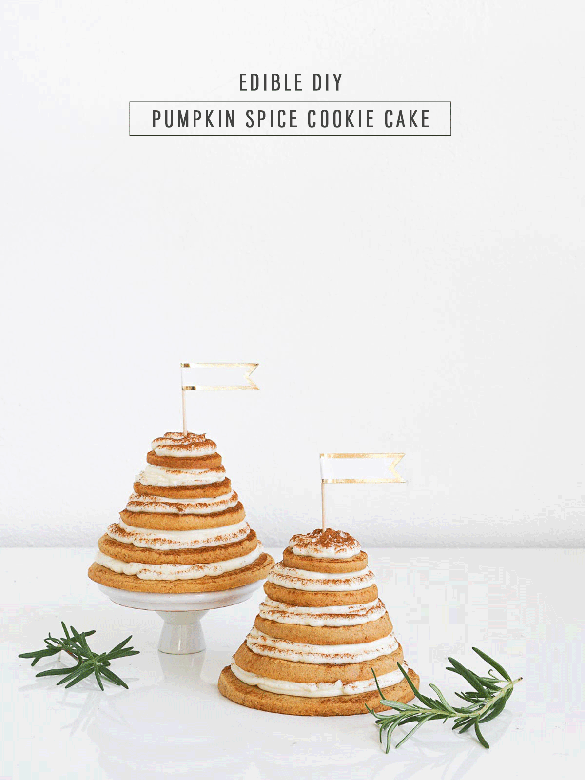 Edible DIY Layered Cookie Cake Sugar & Cloth, an award winning DIY inspired lifestyle blog.