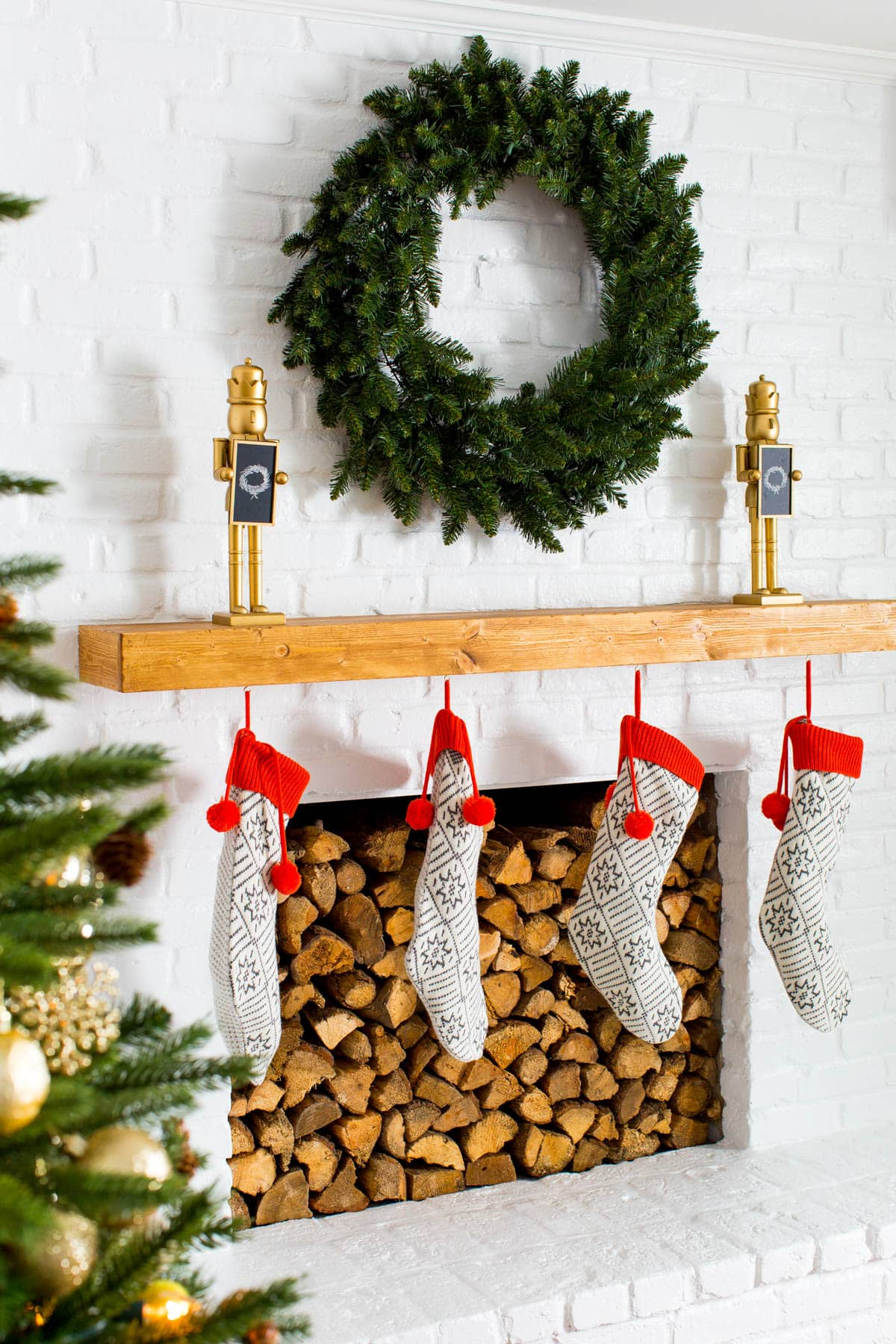 the holiday living room makeover we gifted with lowes by lifestyle blogger ashley rose of - Lowes Christmas Hours