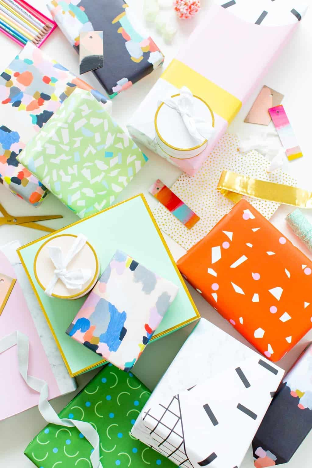 The Cutest Gift Wrap Ideas for any Special Occasion by Ashley Rose of the award winning DIY blog, Sugar & Cloth.