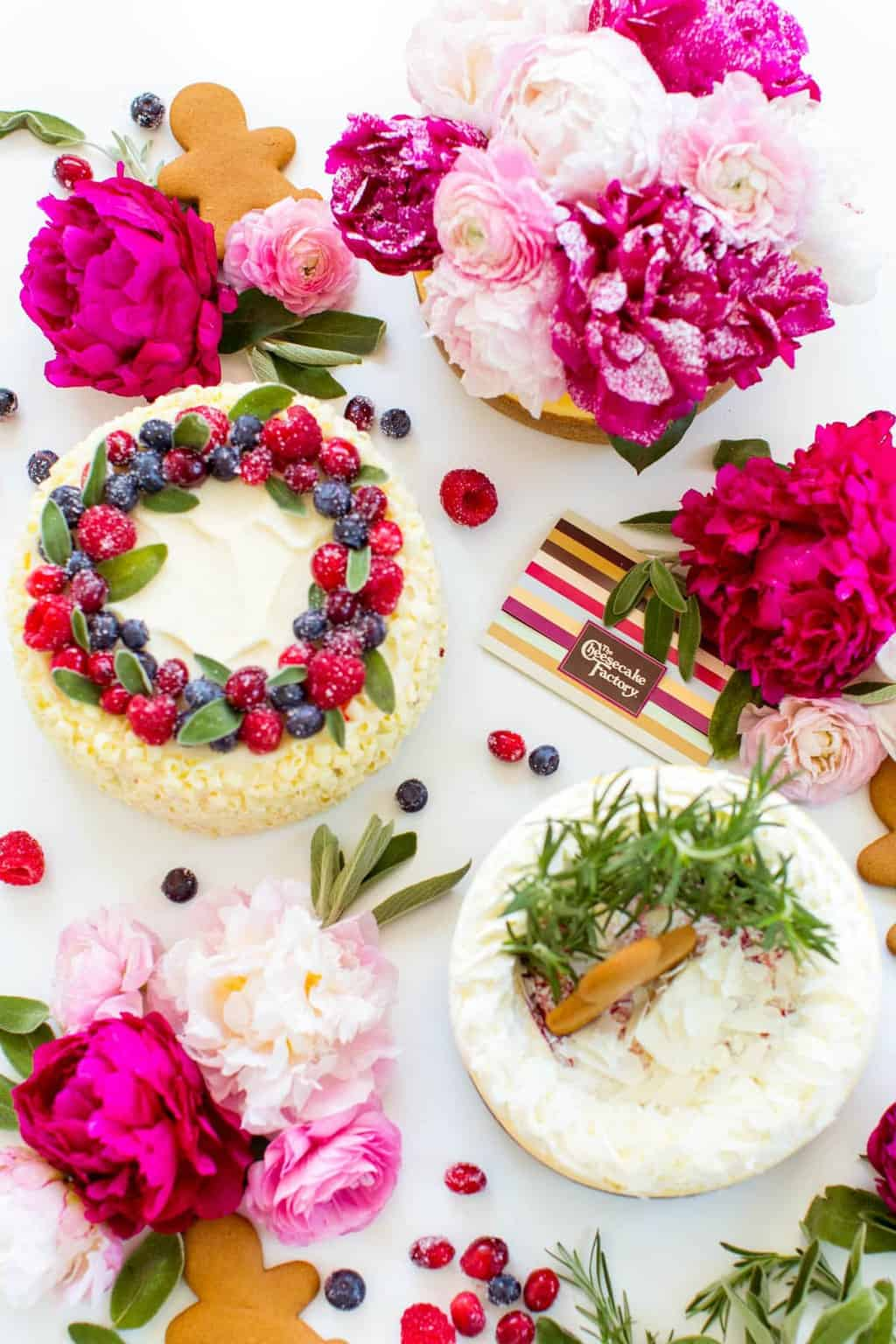 3 DIY Winter Cheesecake Toppers by Lifestyle Blogger Ashley Rose of Sugar & Cloth