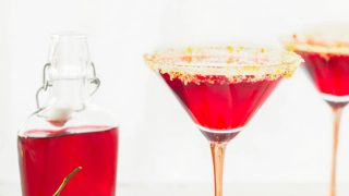 Cranberry Sidecar Cocktail Recipe