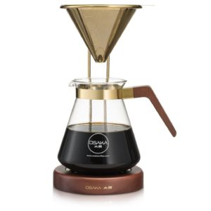 This Gold Pour-Over is one of Sugar & Cloth's favorite kitchen essentials.