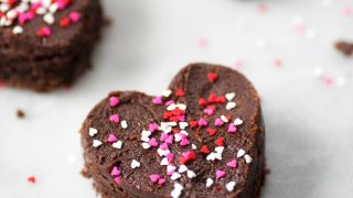 The Perfect Frosted Brownies For Your Valentine