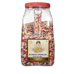 These Rainbow Sprinkles are one of Sugar & Cloth's favorite cooking essentials.