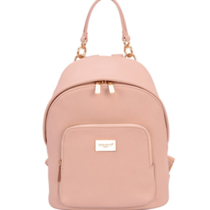 This pink backpack is one of Sugar & Cloth's favorite style finds.