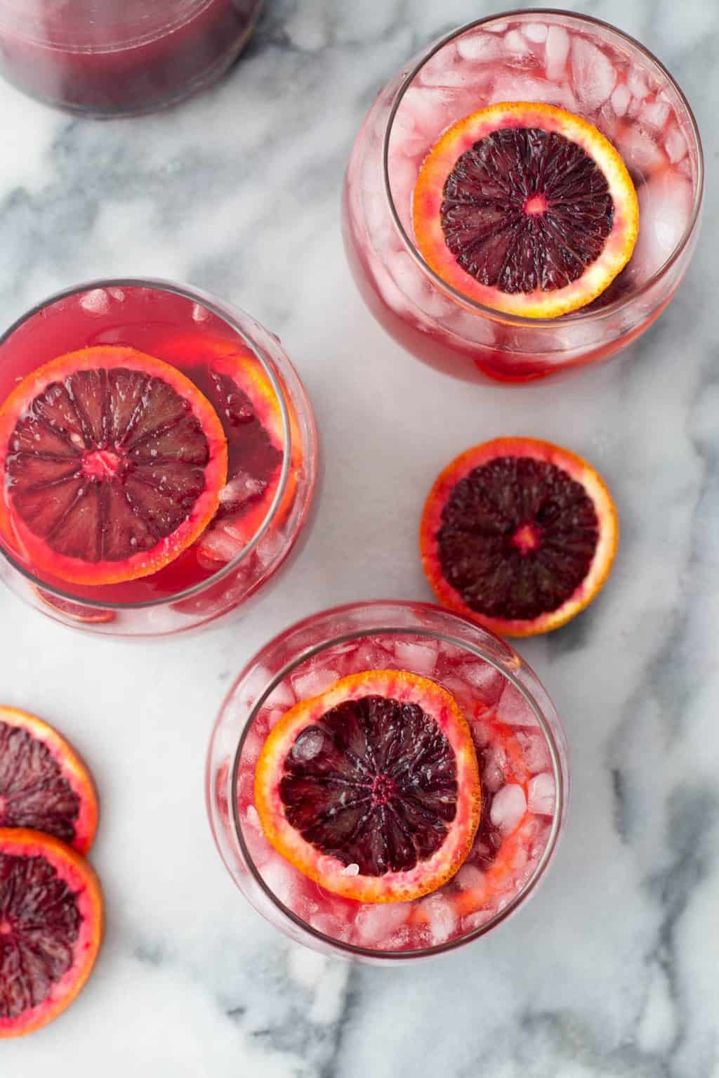 Blood orange sangria recipe by Sugar & Cloth, an award winning DIY and recipe blog.