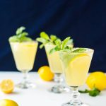 Sparkling Mint Meyer Lemonade