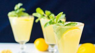 Sparkling Mint Meyer Lemonade Recipe