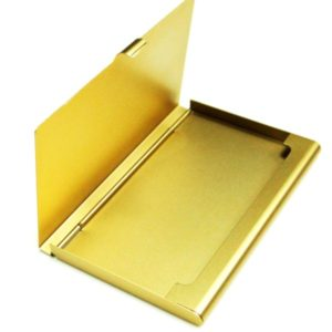 This Gold Business Card Holder is one of Sugar & Cloth's favorite blog essentials.