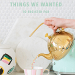 A Modern Couple's Wedding Registry: 10 Things We Couldn't Wait to Register For