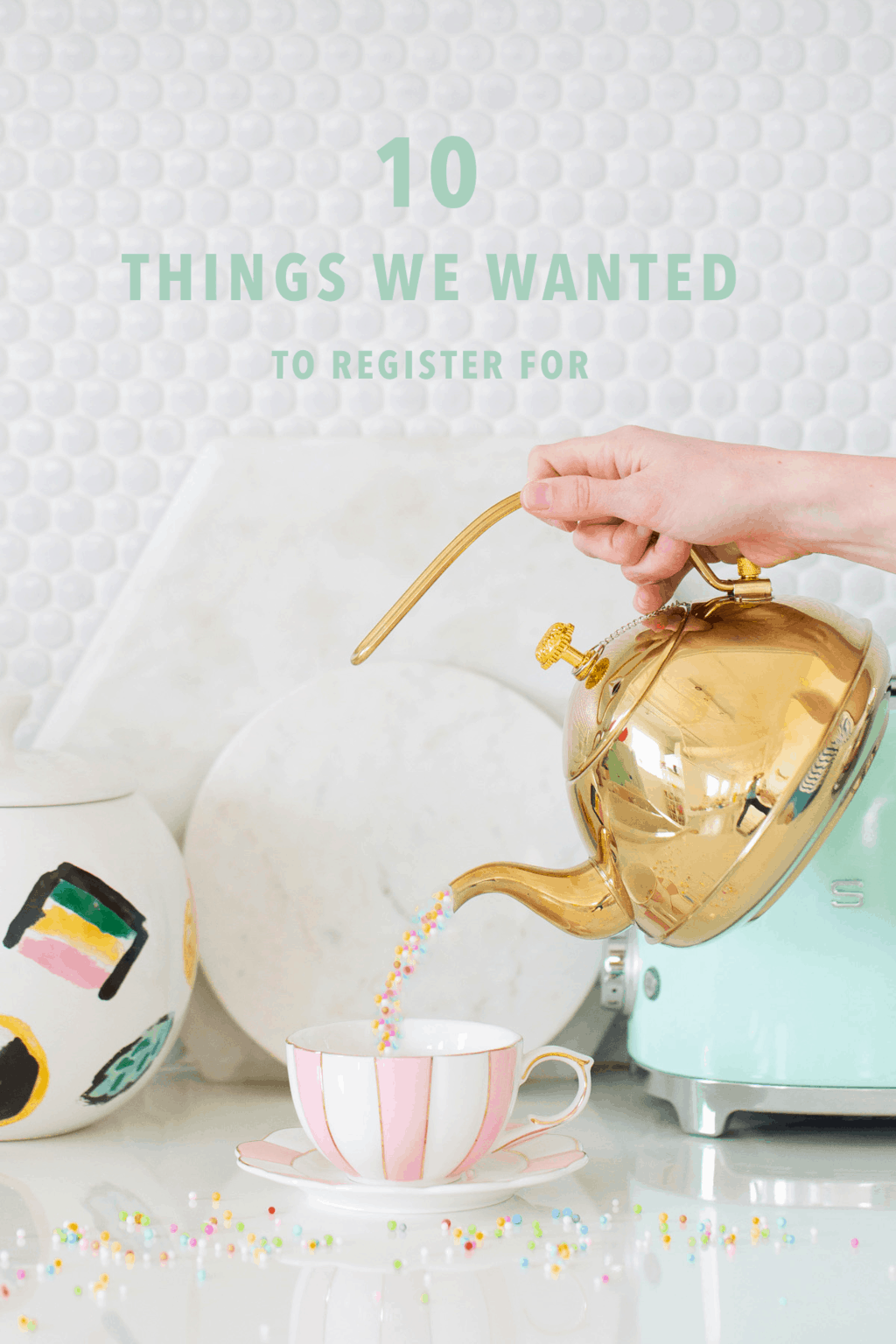 10 Things We Couldn't Wait to Register For by top Houston lifestyle blogger Ashley Rose of Sugar & Cloth