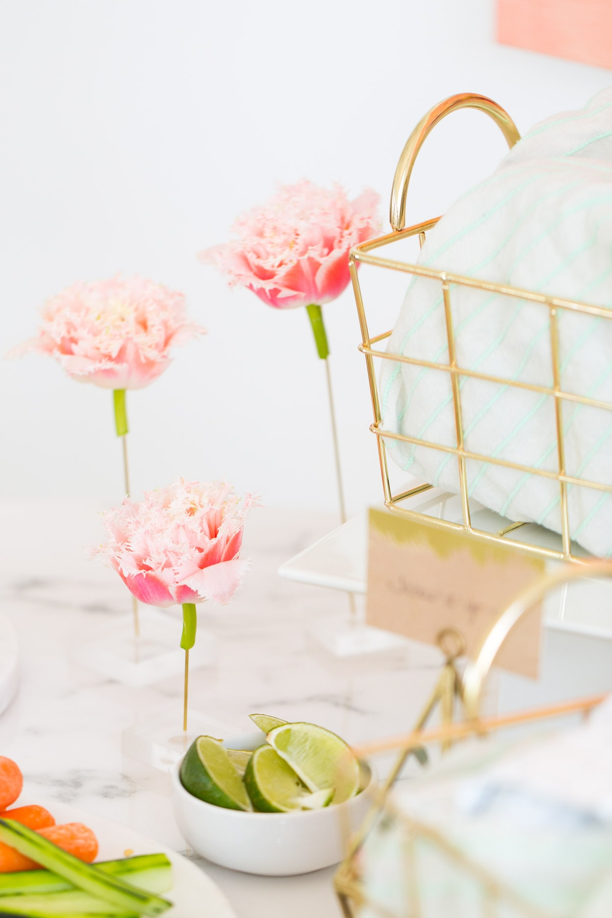 Garden flower bridal shower by top houston lifestyle blogger, Ashley Rose of Sugar and Cloth