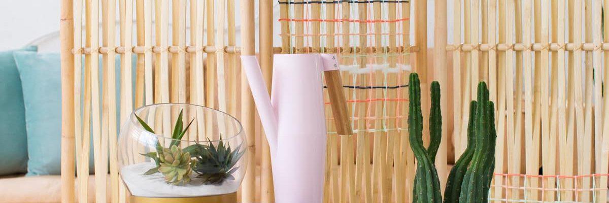 DIY Woven Room Divider-9