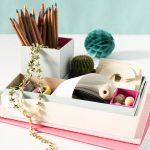 DIY Nesting Desk Organizer