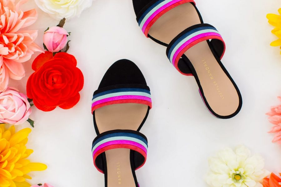 Our Essentials for a Colorful Spring Closet by Sugar & Cloth, an award winning DIY, style, and lifestyle blog.
