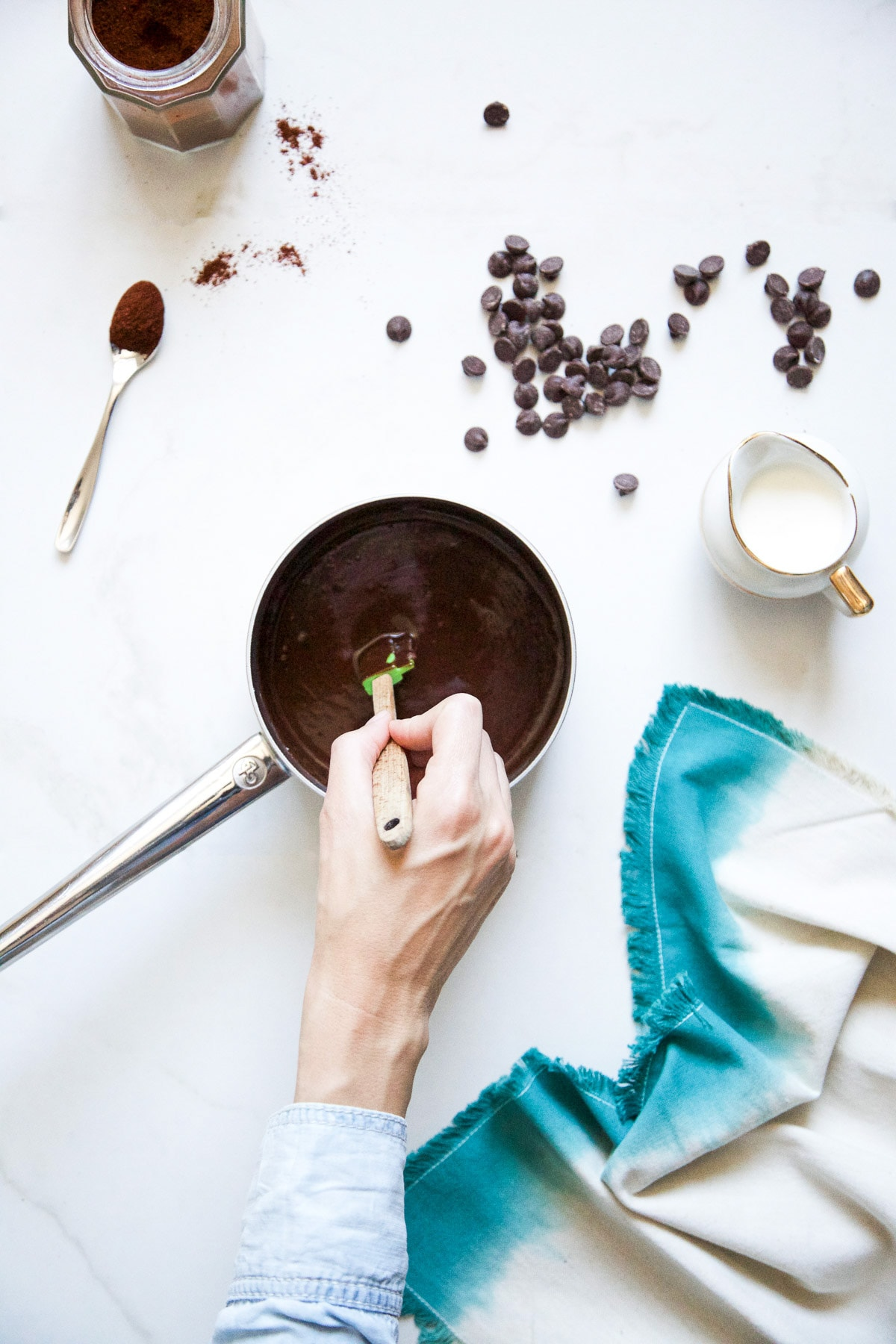 Cinnamon Churros with Chili Chocolate by Sugar & Cloth, an award winning DIY, recipes, and home decor blog.