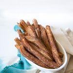 Cinnamon Churros with Chili Chocolate Recipe