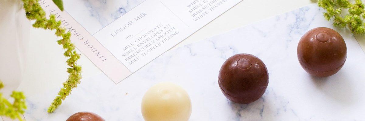 DIY chocolate truffle flight printables by Ashley Rose of top houston lifestyle blog, Sugar and Cloth