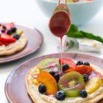 A Summer Grilled Fruit Pizza Recipe