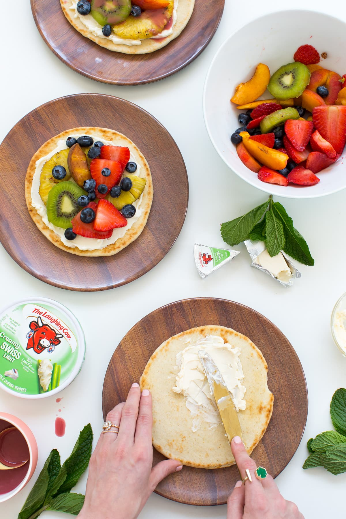 A Summer Grilled Fruit Pizza Recipe by top Houston lifestyle blogger Ashley Rose of Sugar & Cloth