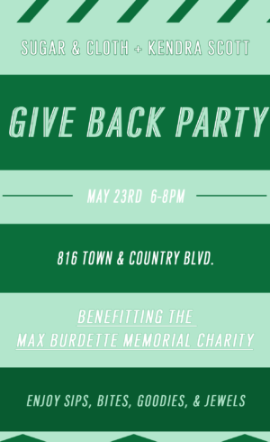 Max Burdette Memorial: Help us in Supporting My Cousin's Charity!