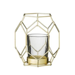 This Outdoor Geometric Candle Holder is one of Sugar & Cloth's favorite holiday and summer finds!