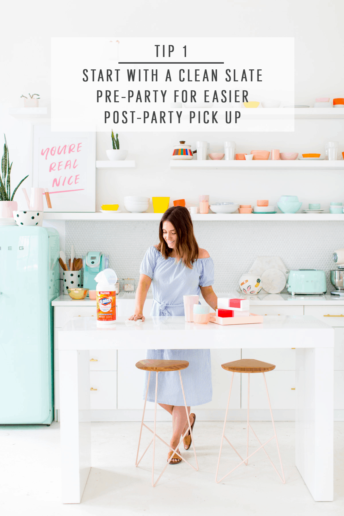 6 Hacks for Easy Entertaining (+ video!) by top Houston lifestyle blogger Ashley Rose of Sugar and Cloth