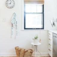 DIY Cabana Stripe Apron by Sugar & Cloth, an award winning DIY, home decor, and recipes blog.