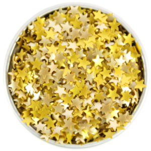These Edible Gold Stars are one of Sugar & Cloth's favorite holiday finds.