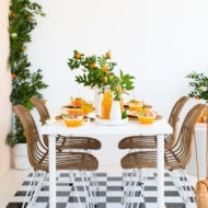 Orange you glad party by Ashley Rose of Sugar & Cloth, a top Houston Lifestyle Blog