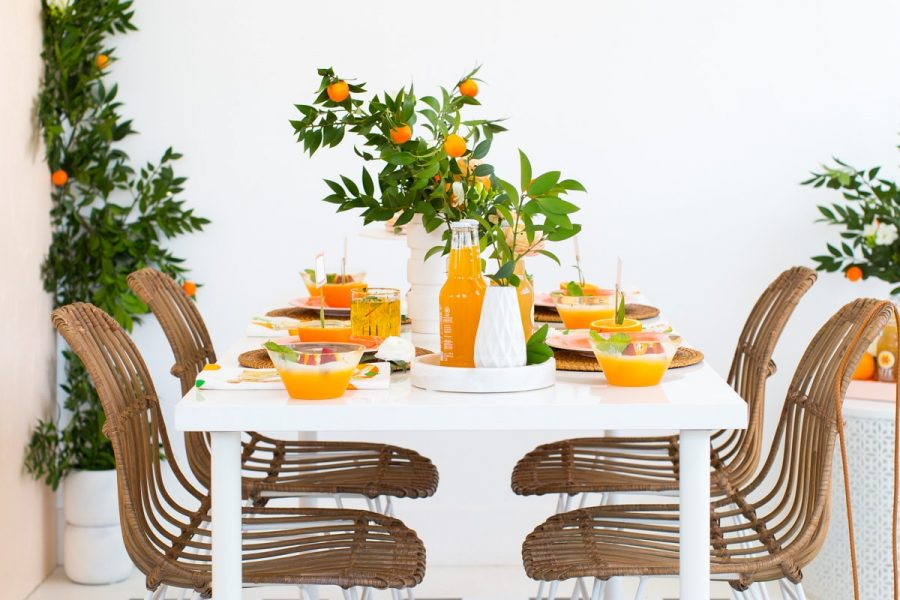 Orange you glad party by Ashley Rose of Sugar & Cloth, a top Houston Lifestyle Blog