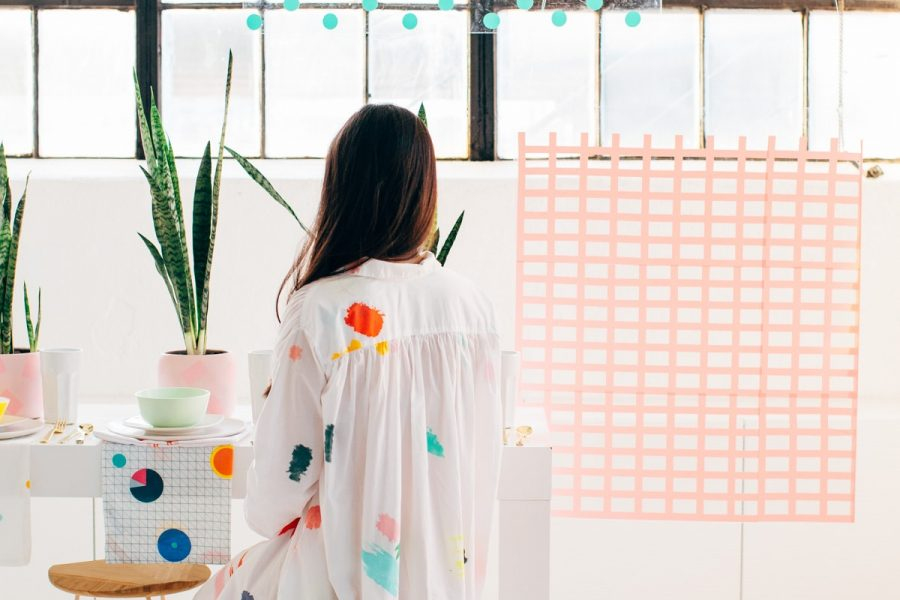 Pattern Party: 4 Ways to Add Temporary Pattern to any Party by Ashley Rose of Sugar & Cloth, a top Houston Lifestyle Blog