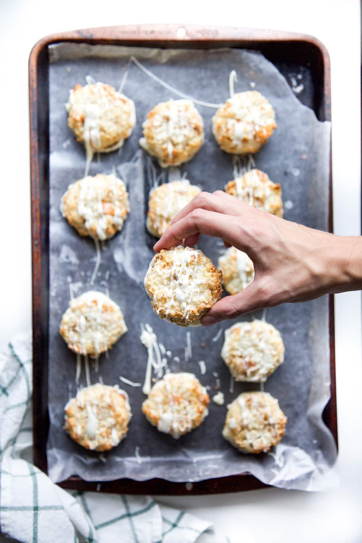 Mango and Pineapple White Chocolate Macaroons | Sugar & Cloth Recipes