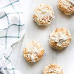 Mango and Pineapple White Chocolate Macaroons