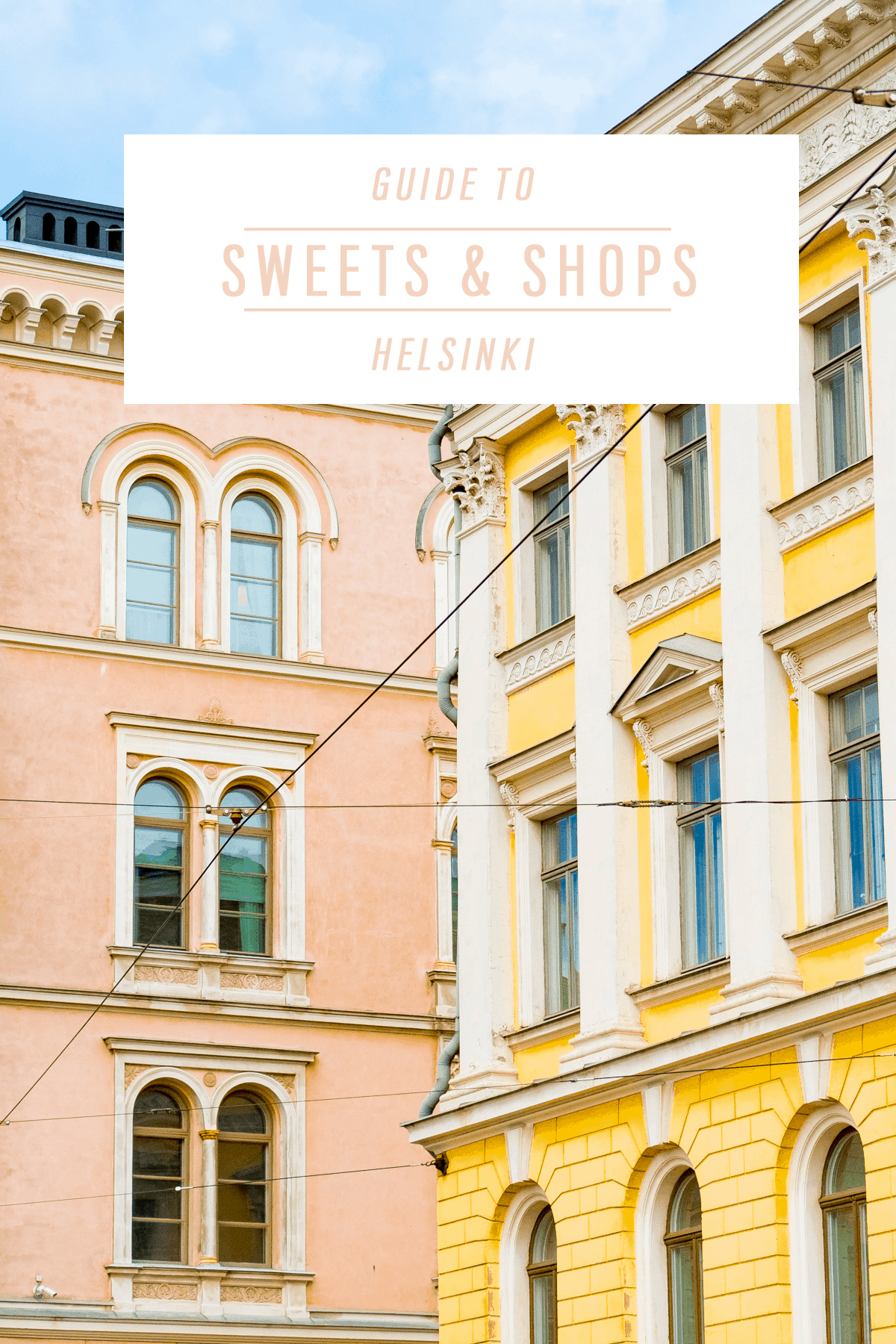 The Best Shops & Sweets in Helsinki by Ashley Rose of Sugar & Cloth, an award winning DIY, travel, and decor blog.