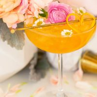Whiskey Dreamsicle Cocktail